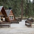 The Corn Creek Ranger Station.- Main Salmon River: Corn Creek to Carey Creek