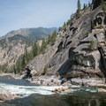 Black Creek Rapid in the Black Canyon.- Main Salmon River: Corn Creek to Carey Creek