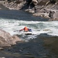 At this flow the line was left.- Main Salmon River: Corn Creek to Carey Creek