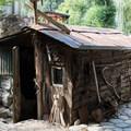 Buckskin Bill's cabin, where he lived until 1980.- Main Salmon River: Corn Creek to Carey Creek