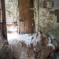 The inside of Buckskin Bill's cabin.- Main Salmon River: Corn Creek to Carey Creek