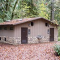 Restrooms in Cascadia State Park Campground.- Cascadia State Park Campground