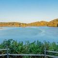 The overlook.- Morgan Falls Overlook Park