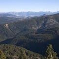 Views of the Absaroka Range from Lower Mount Ellis.- Lower Mount Ellis