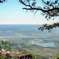 View from the ridge.- Mount Herman