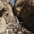 Hidden Falls at the trailhead.- Mill B North Fork Trail
