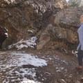 The abandoned mine near Hidden Falls.- Mill B North Fork Trail