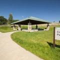 Day use picnic area at Jordanelle State Park.- Jordanelle State Park