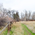 Old Ranch Boundary.- Cowiche Mountain Trail