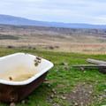 Bathtub and former watering trough.- Cowiche Mountain Trail