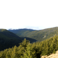 With the climbing largely done, the trees thin and the views open.- Lakeview Trail