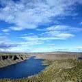 View of Lake Billy Chinook from the Tam-a-Láu Trail.- Tam-a-Láu Trail