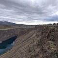 Much of the Tam-a-Láu Trail provides cliff-edge views of the stunning landscape.- Tam-a-Láu Trail