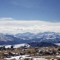 Looking south from Notch Mountain.- Notch Mountain