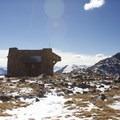The shelter on Notch Mountain.- Notch Mountain