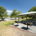 Reservable picnic shelter at Island Beach Day Use Area.- Island Beach Day Use Area