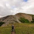 Starting out toward Nublet.- Nub Peak