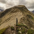 Preparing to tackle the Nub approach ridge.- Nub Peak