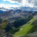 Looking north at Nestor Peak.- Nub Peak