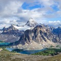 Mount Assiniboine Provincial Park in all its glory.- Nub Peak