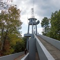 The ramp leading up to the observation deck.- Look Rock