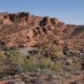 Red Cliffs Campground.- Red Cliffs Campground