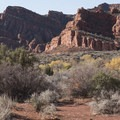 Big views from the Red Reef East Trail.- Anasazi Trail to Red Reef East Loop