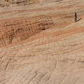 The rolling hils of Navajo sandstone.- Candy Cliffs of Yant Flat
