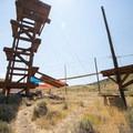 Zipline Utah at Rainbow Bay Day Use Area, Deer Creek State Park.- Rainbow Bay Day Use Area + Zipline Utah