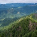 The view from the Kings Mountain summit.- Elk Mountain to Kings Mountain Traverse