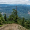 View from the Kings Mountain summit.- Elk Mountain to Kings Mountain Traverse