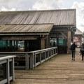 Coos Bay information pavillion.- Coos Bay Boardwalk