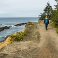 The trail offers nonstop spectacular views.- Shore Acres Loop Trail