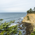 The view to the north.- Shore Acres State Park to Simpson Overlook