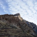 Cliffs above the north side of Rock Canyon.- Squaw Peak Loop