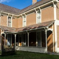 The Hughes House has been beautifully preserved and restored.- Historic Hughes House