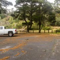 Middle parking area does not offer great beach access.- Bandon State Natural Area