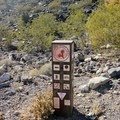 Trailhead marker at City of Henderson Anthem East Trailhead.- Black Mountain Summit