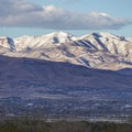 Big mountain vistas from Cycle Park.- Draper Cycle Park