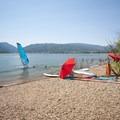 Quist Beach, Pineview Reservoir.- Quist Beach