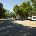 Anderson Cove Campground.- Anderson Cove Campground + Swim Beach