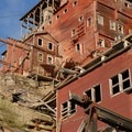 Concentration Mill at Kennecott Copper Mines National Historic Landmark.- Kennecott Copper Mines National Historic Landmark