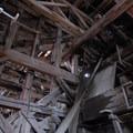 Inside the Concentration Mill at Kennecott Copper Mines National Historic Landmark.- Kennecott Copper Mines National Historic Landmark