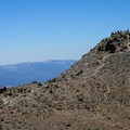 Views of the summit standing above everything else in the vicinity.- Mount Rose Summit Trail