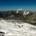 The McIntyre Range and Mount Colden from Mount Marcy.- Mount Marcy, Mount Skylight + Gray Peak Loop