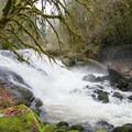 Lake Creek Falls.- Lake Creek Falls Recreation Site