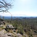 More views from the summit.- Black Elk Peak via Willow Creek