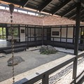 Inside one of the museums.- Morikami Japanese Gardens