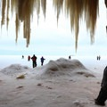 Taking it all in.- Apostle Islands Mainland Ice Caves