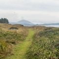 Looking south towards Orford Head- Cape Blanco Shore Trail
